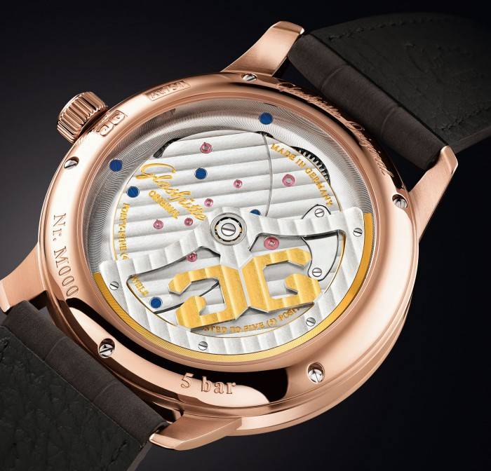 露的漂亮 品鉴格拉苏蒂最新偏心机芯倒置腕表