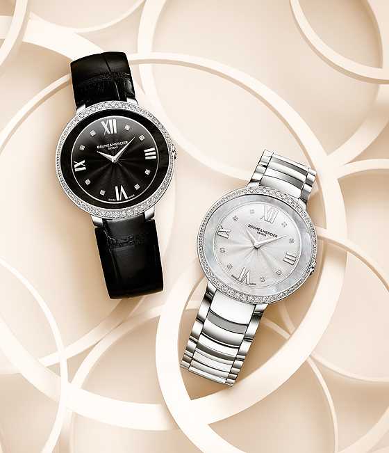Baume & Mercier Promesse Ref. 10166 and 10199