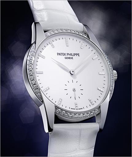 White Gold Cases Replica Patek Philippe Calatrava Watches