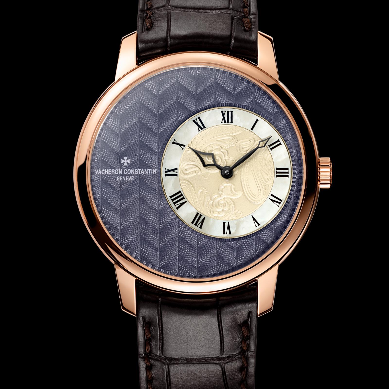 Pink Gold Cases Fake Vacheron Constantin Watches