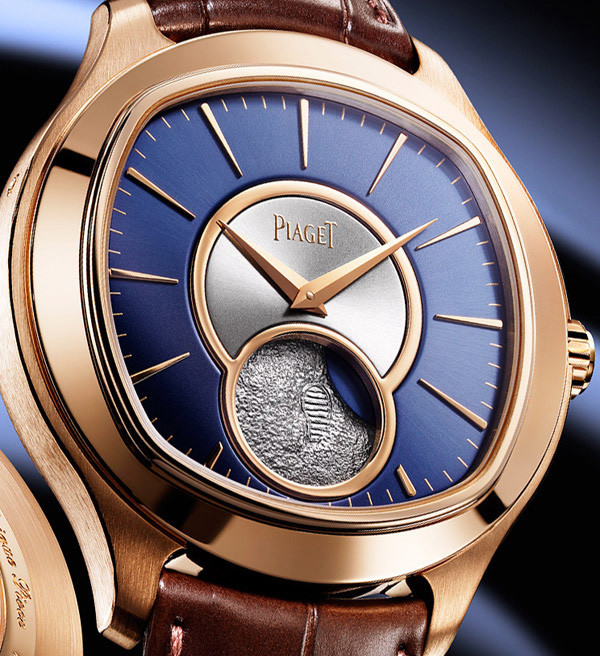 Best quality piaget emperador coussin moon phase 18k rose gold copy watches cheap replica - Coussin rose gold ...