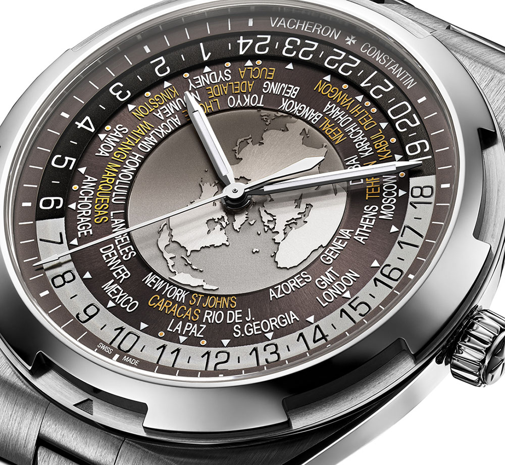 The World Time is beautiful too but the brown dial color isn't as apparent on this reference.