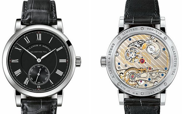 "Swiss A.Lange&Sohne Richard Lange ""Pour Le Mérite"" Replica Watches With Black Dials"