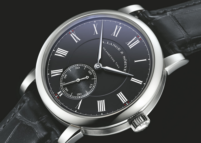 "Swiss A.Lange&Sohne Richard Lange ""Pour Le Mérite"" Fake Watches With Black Dials"