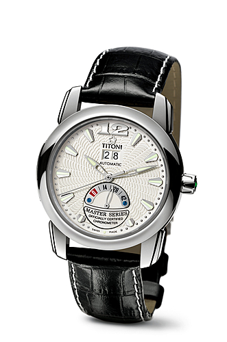 New Formal Titoni Master Series Automatic Man Replica Watches With White Dials
