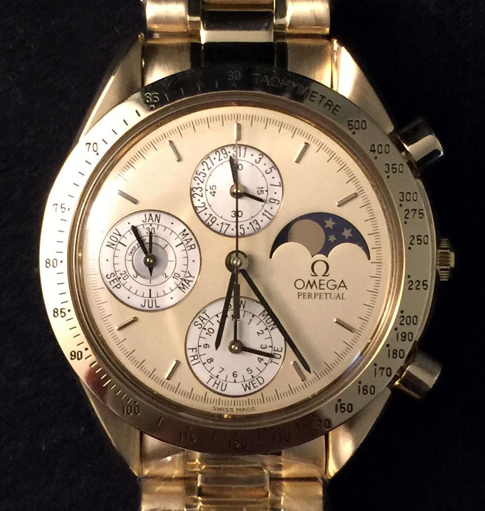 Omega speedmaster perpetual calendar replica watch cheap replica watches for men for Omega replica watch