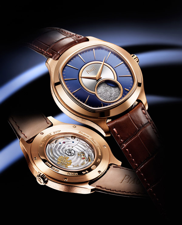Best quality piaget emperador coussin moon phase 18k rose - Coussin rose gold ...