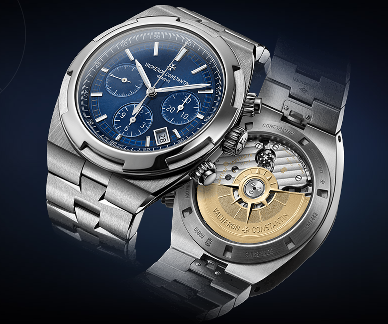 Vacheron Constantin Overseas Chronograph Blue Dial Replica Watch