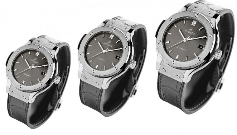 hublot classic fusion chrono racing grey titanium replica