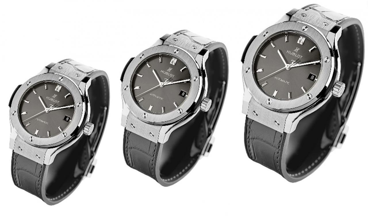 hublot classic fusion chrono racing grey titanium replica