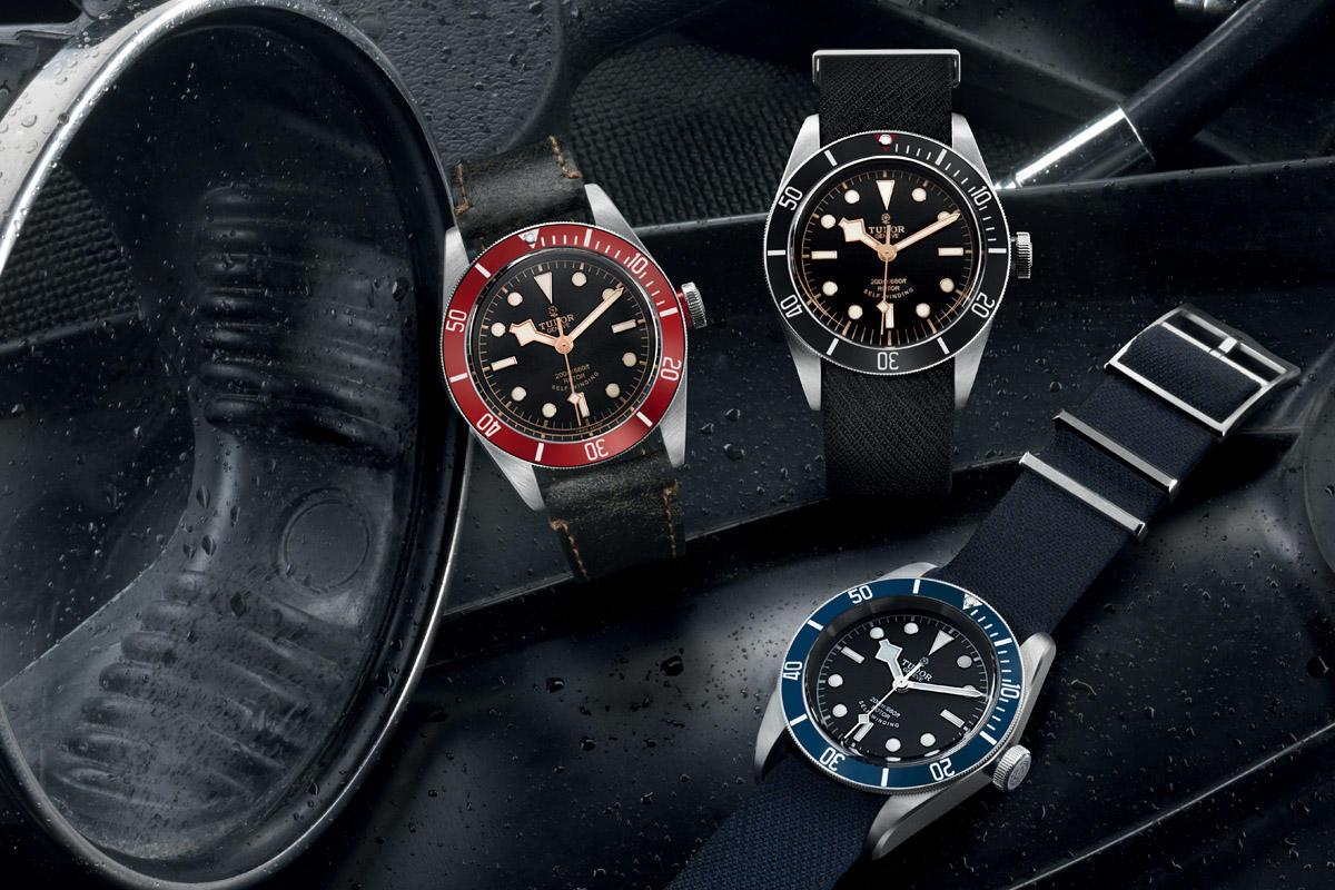 Tudor Heritage Black Bay Black Replica Watch