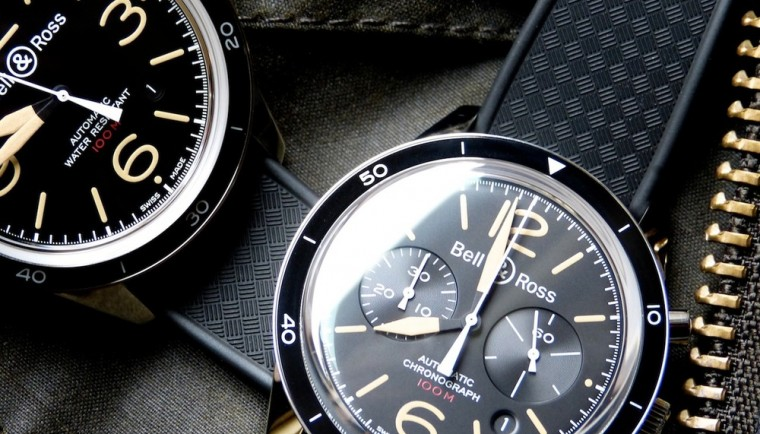 Bell & Ross Sport Heritage BR 126 and Sport Heritage BR 123 Replica Watch
