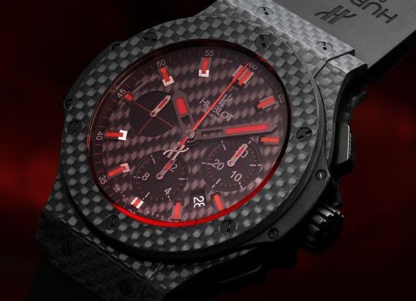 Hublot Big Bang Red Magic Carbon