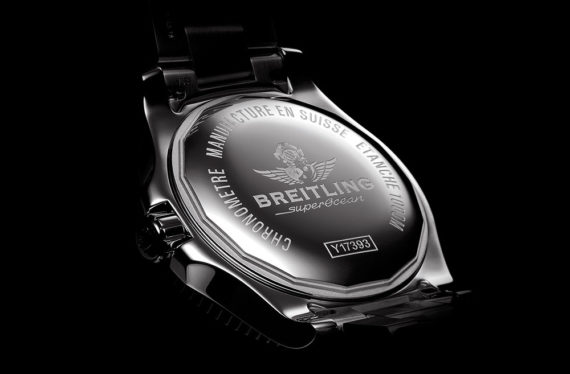 Breitling Supercoeanb 44 Special - Caseback