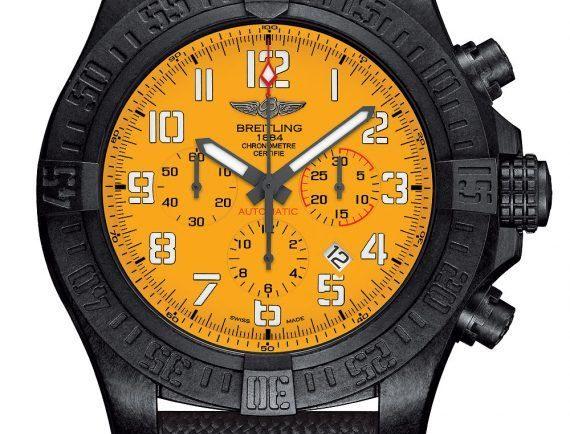 Breitling Avenger Hurricane 12-Hour Yellow Dial - front