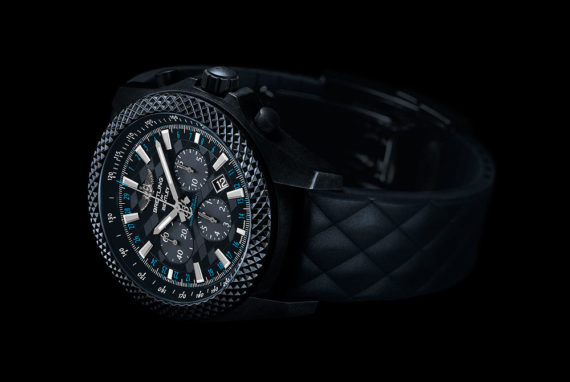 Breitling for Bentley GT Dark Sapphire Edition - reclining