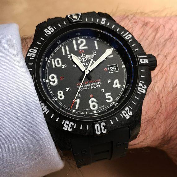 Breitling Colt Skyracer - wrist