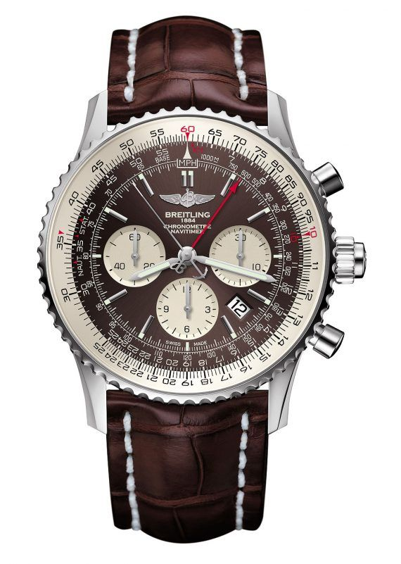 Breitling Navitimer Rattrapante - Steel Case - front