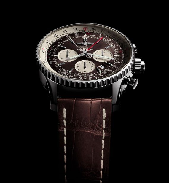 Breitling Navitimer Rattrapante - Steel Case - soldier