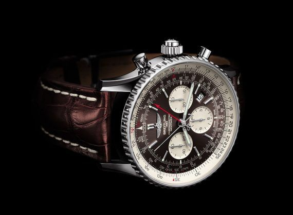 Breitling Navitimer Rattrapante - Steel Case - reclining