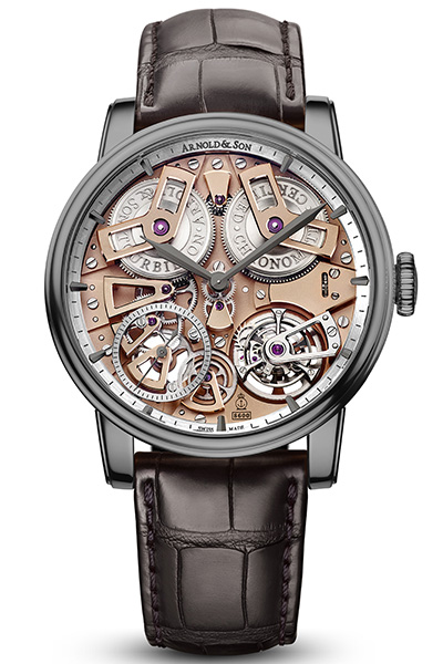 Tourbillon Chronometer No. 36 Gunmetal