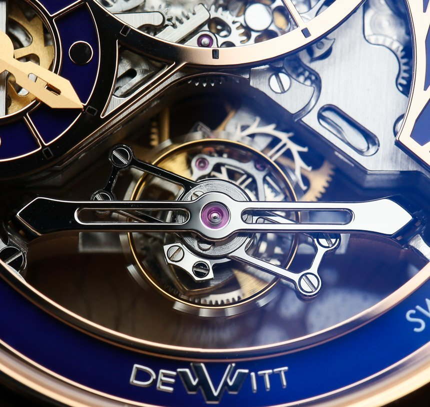 DeWitt Academia Grand Tourbillon Watch Hands-On Hands-On