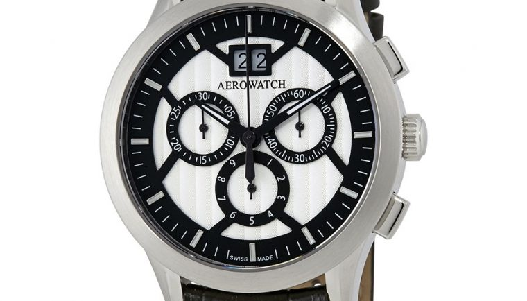 Aerowatch Les Grandes Classiques Chronograph Swiss Made Men's Watch A 80966 AA04