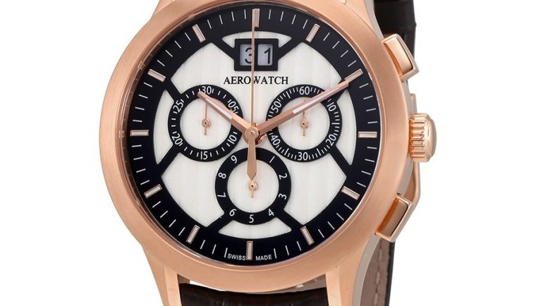 Aerowatch Les Grandes Classiques Chronograph Swiss Made Men's Watch A 80966 RO05