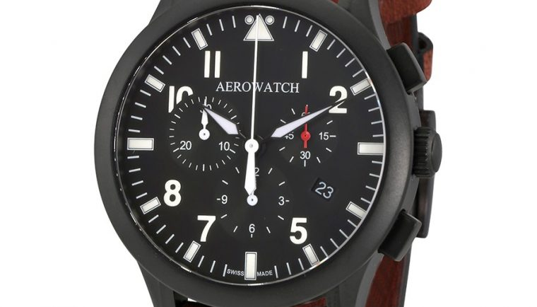 Aerowatch The Grand Classics Pilot Chronograph Swiss Made Men's Watch A 83966 NO03