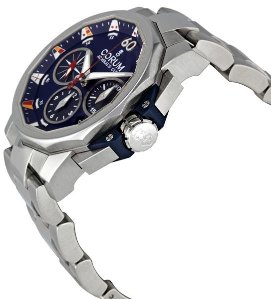 Corum Admirals Cup Challenge Chronograph Men's Watch 753.693.20/V701 AB92