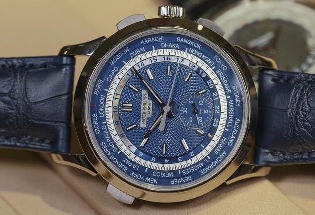 patek philippe 5930g worldtime chronograph replica