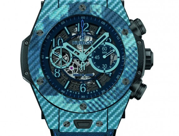 Best hublot big bang unico italia independent blue replica watch