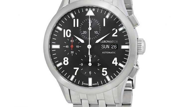 Aerowatch The Grand Classics Pilot Automatic Swiss Made Men's Watch A 61968 AA03 M