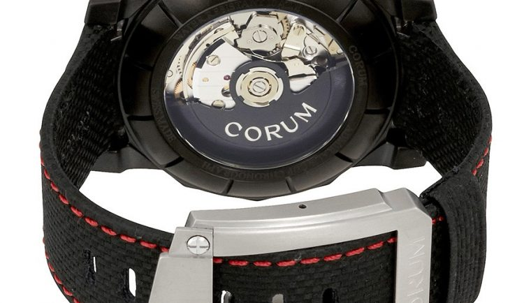 Corum Admiral's Cup Black Dial Automatic Men's Watch A96103114