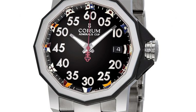 Corum Admiral's Cup Automatic Black Dial Men's Watch A082/03375