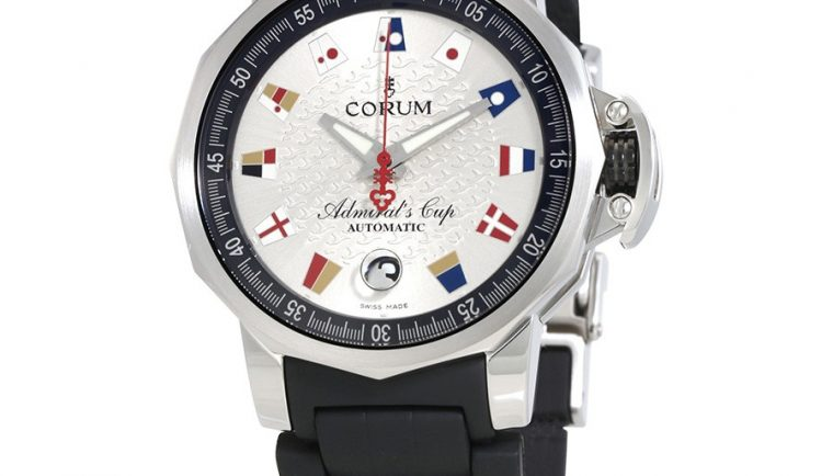Corum Admirals Cup Trophy Silver Dial Automatic Men's Watch A082/03499